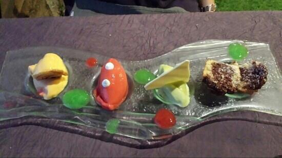Les Boissieres: Dessert