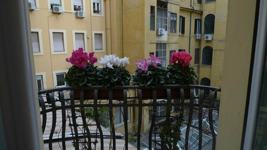Residenza Cellini: View from our room