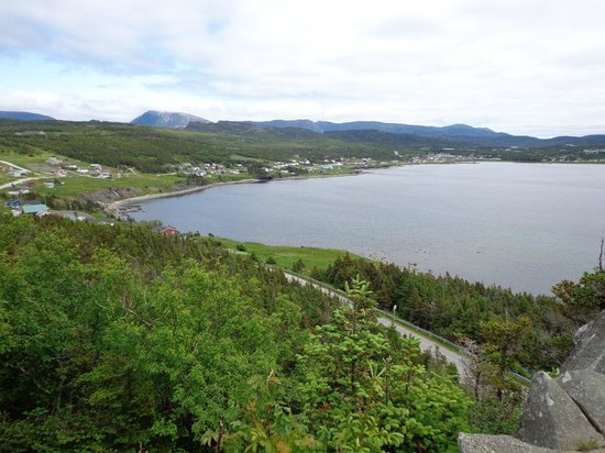 Bottom Brook Cottages: View of Rocky Harbour