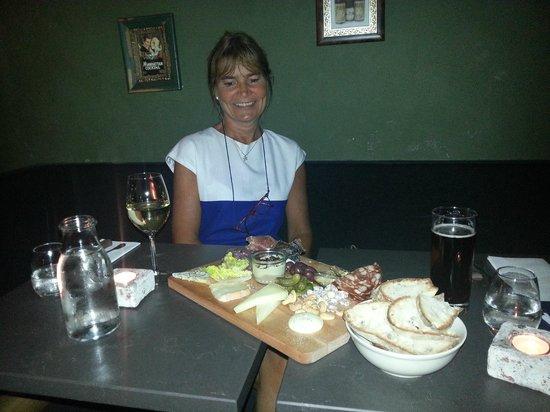 Candeur Dessert & Cocktail Bar : A fantastic charcuterie plate