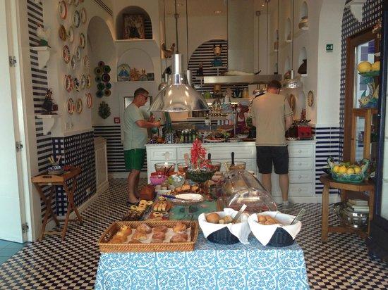 Maison La Minervetta: Unbelievable breakfast