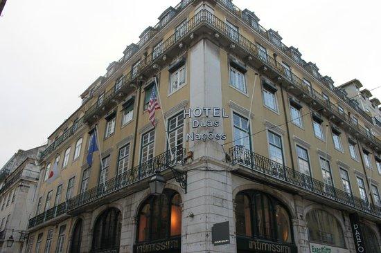 Hotel Duas Nacoes : Vista Exterior del Hotel