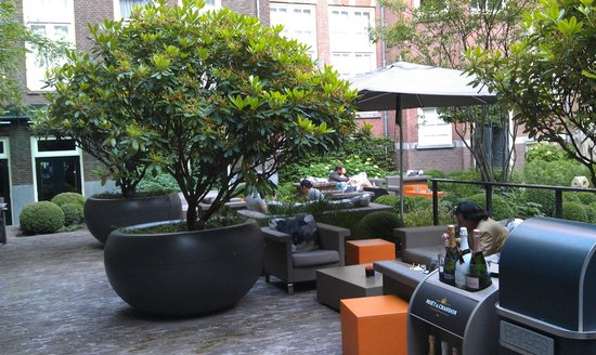 ‪‪Sofitel Legend The Grand Amsterdam‬: Interior Courtyard‬