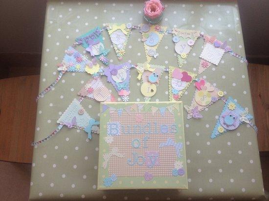 Ditsydo Tea Room: Baby shower craft activity