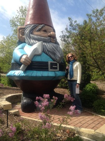Reiman Gardens: Giant Garden Gnome