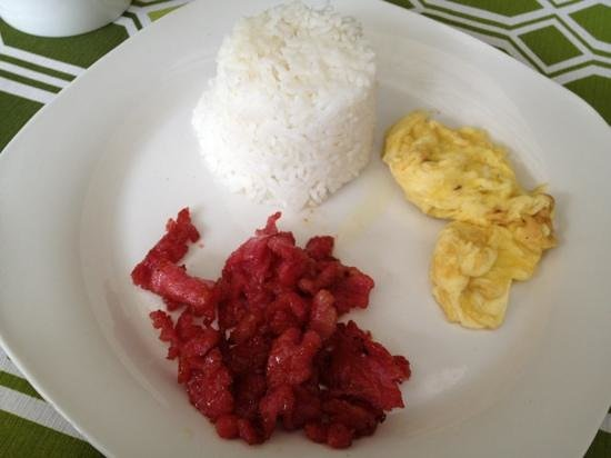 11th Street Bed and Breakfast: breakfast tocilog