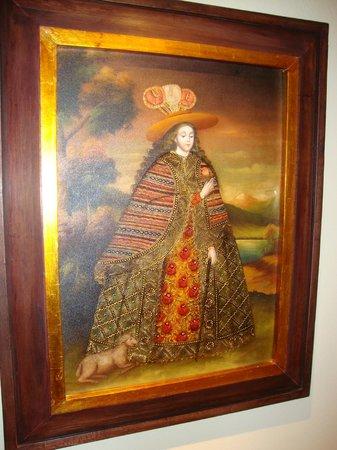 JW Marriott El Convento Cusco: Los cuadros de los pasillos - Galdós