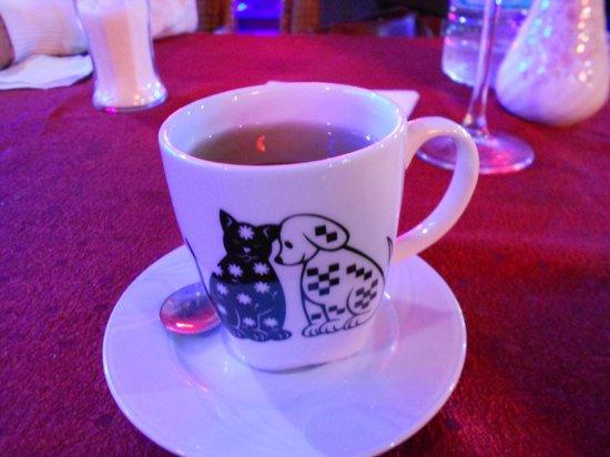 Thomas Bar & Restaurant: Wonderful tea served after every dinner
