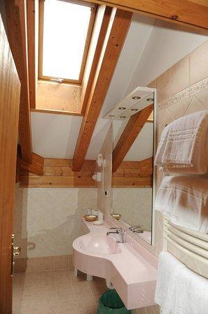 Hotel Rita & Spa: bagno camera 303