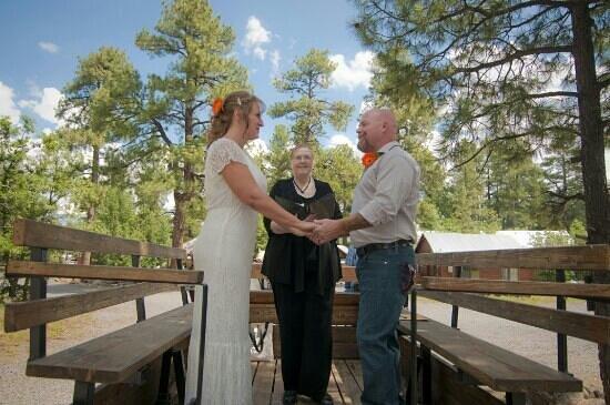 High Mountain Trail Rides : Wedding on the wagon