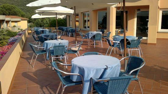 Hotel - Residence Isola Verde: Terrazza reception