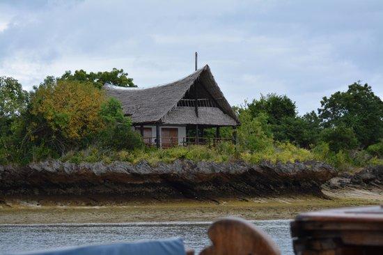 Wasini Island : huisje op het eiland