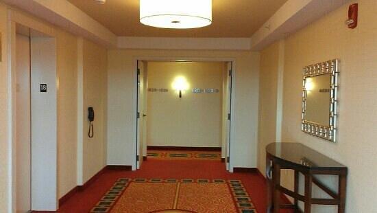 Lancaster Marriott at Penn Square : elevator lobby