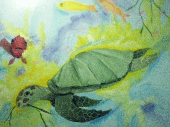 Comfort Inn Sandusky: turtle wall art