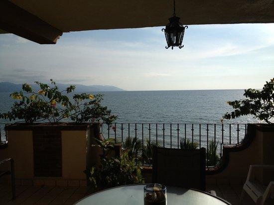 Plazamar: View from balcony.