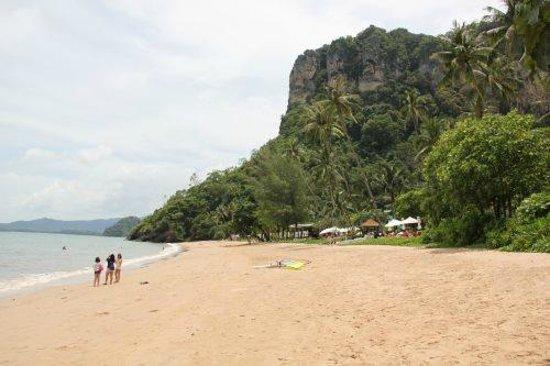 Centara Grand Beach Resort & Villas Krabi: The Beach . At the end of the beach , a walk to Ao Nang