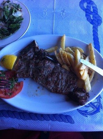 Galini Taverna: Beef steak