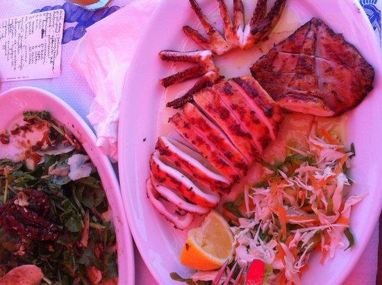 Galini Taverna: Grilled squid