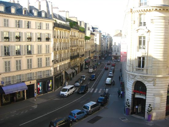 Hotel Pont Royal : room view