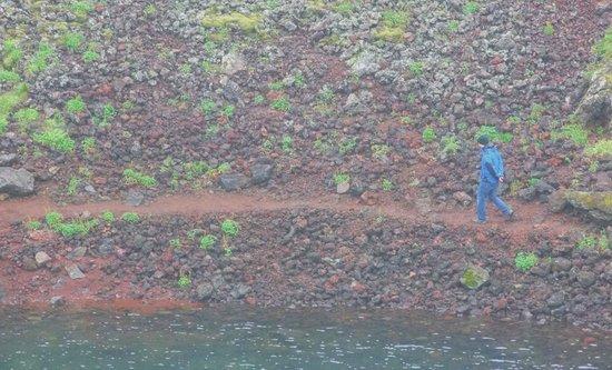 Kerid Crater: Kerið -  Vulcão Kério