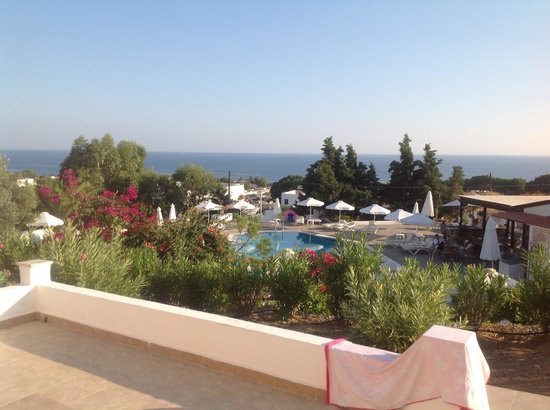 Eleni Apartments: View from room 18