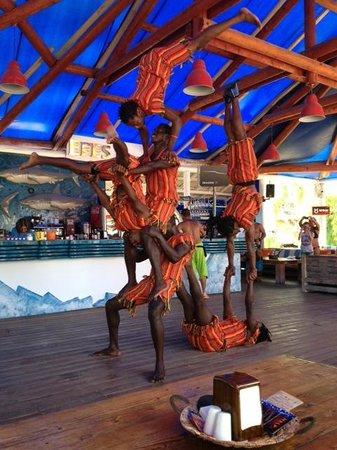 The Sugar Beach Club : Beach Club entertainment