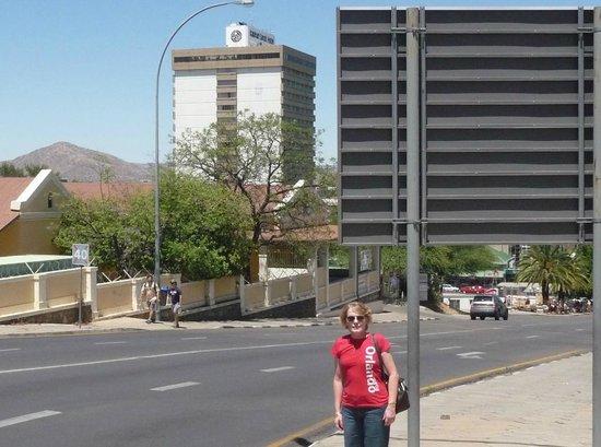 AVANI Windhoek Hotel & Casino : View of hotel