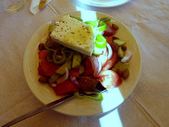 Iliomanolis Taverna: Greek Salad