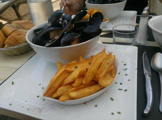Cap Marine : Moules frites