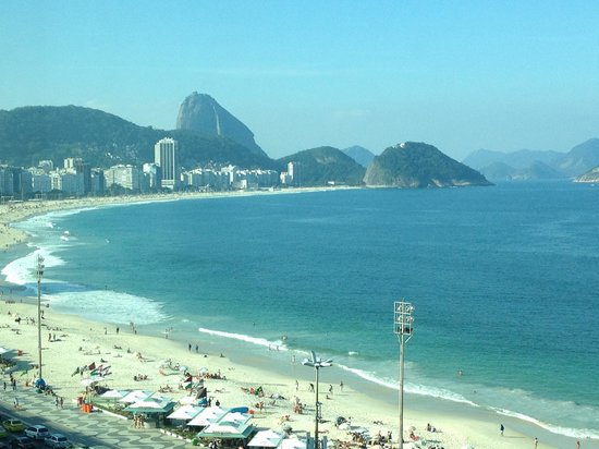 Miramar Hotel by Windsor: Copacabana beach view