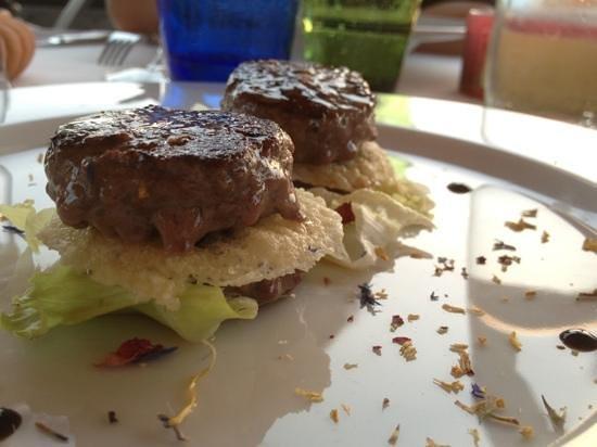 Mini Ristorante E Wine Bar : mini hamburger