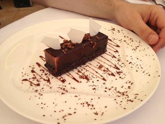 La Semplicita : Lingot croustillant au chocolat et bonbons pétillants