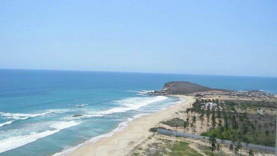 Hotel Riu Emerald Bay : Vista desde nuestra habitación