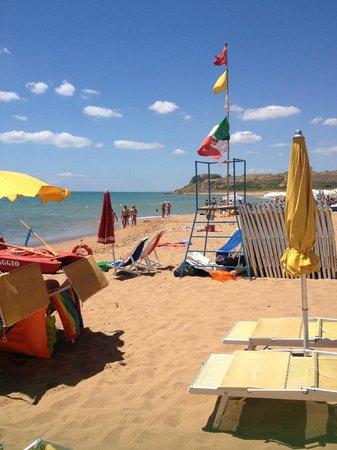 Hotel Miramare : The beach