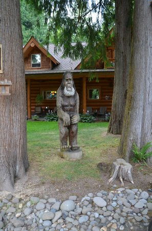 Mount St. Helen's Bed and Breakfast: Watch out for Bigfoot!