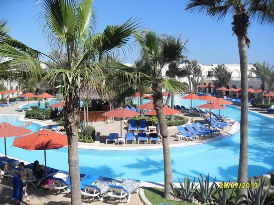 SENTIDO Djerba Beach: The view from our room