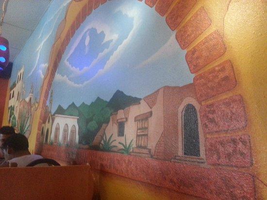 El Tenampa: Decoration on the wall