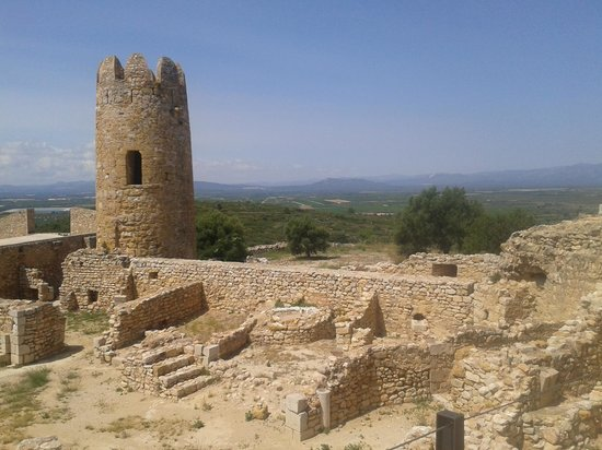 Ulldecona, Spain: one of the towers