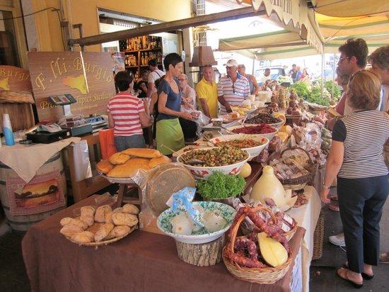 Fratelli Burgio's stall