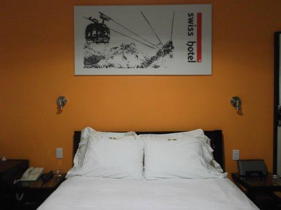 Swiss Hotel: la camera