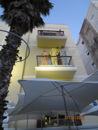The Rothschild Hotel - Tel Aviv's Finest: view of trendy, first class boutique hotel, Rothschild