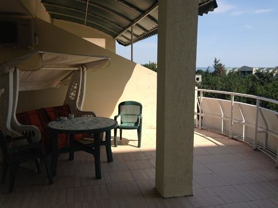 Shipka Hotel: Terrace of the apartment 41A