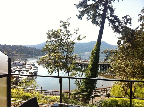 Brentwood Bay Resort & Spa: View from the 1st floor balcony
