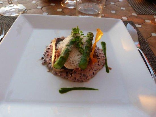 Boutique Hotel & Restaurant Ca's Xorc: Negrito mit Venere Reis und Spargel