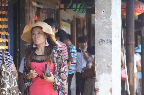Xitang Ancient Town: Tourists