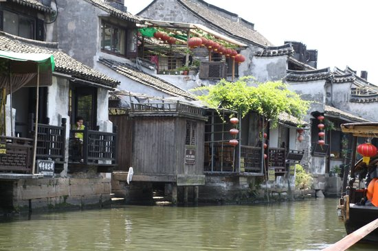 Xitang Ancient Town: Along the canal