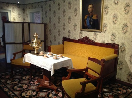 Russian Bishop's House: The Bishop's parlor.