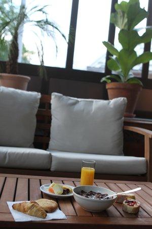Hotel Des Neiges: Petit dej