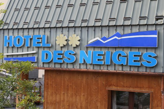 Hotel Des Neiges : Façade
