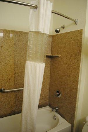 Brookside Inn & Suites White City : Tub/Shower combo